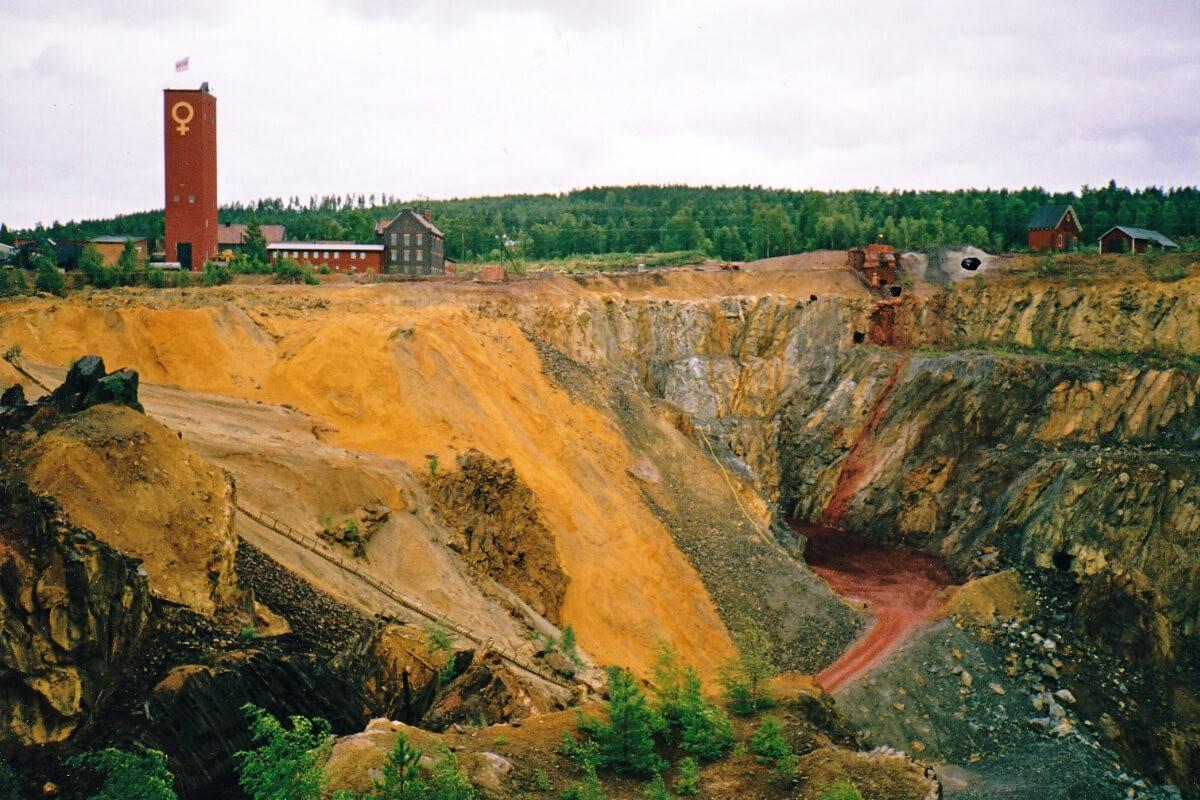 Falun mine copper