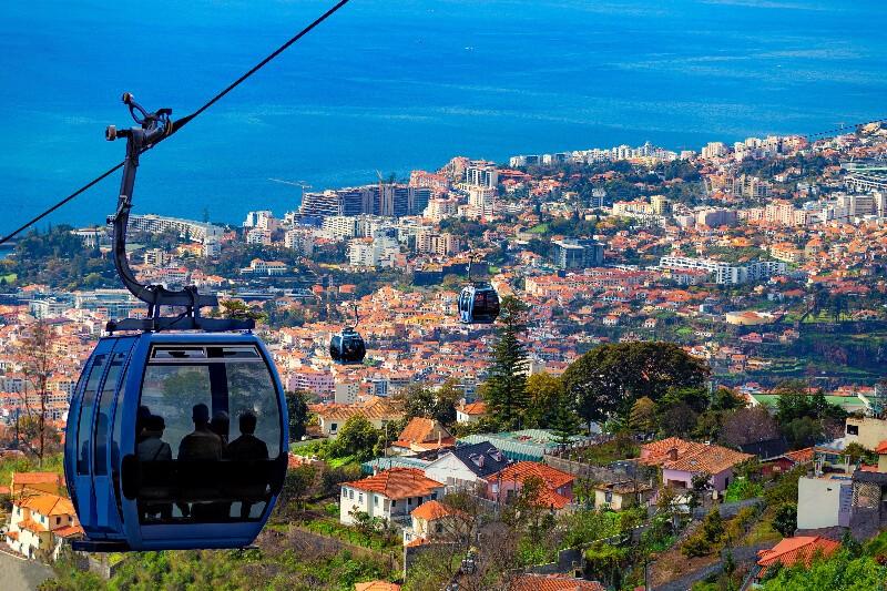 portuguese island of Madeira