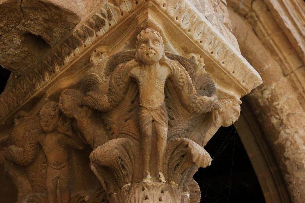 cloister capitals