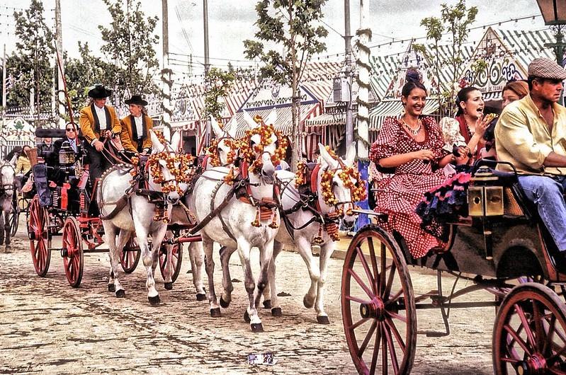 Feria de Abril Sevilla.