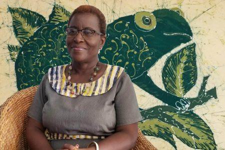 Art of Batik Revealed by Designer Edwina Assan of Ghana