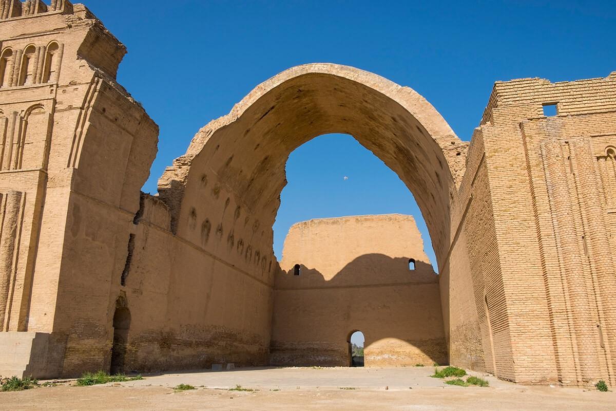 Ktesifon Palace, Ctesiphon, Iraq.